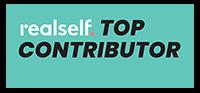 RealSelf Top Contributor logo